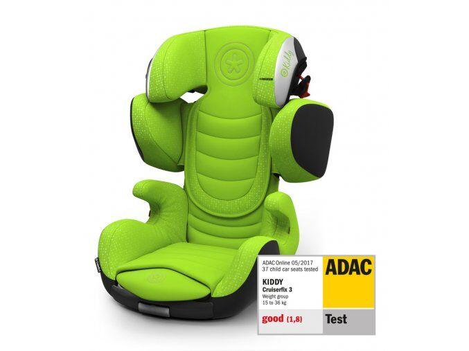 1fa516df80c Autosedačka Kiddy Cruiserfix 3 - Lizard Green 2019