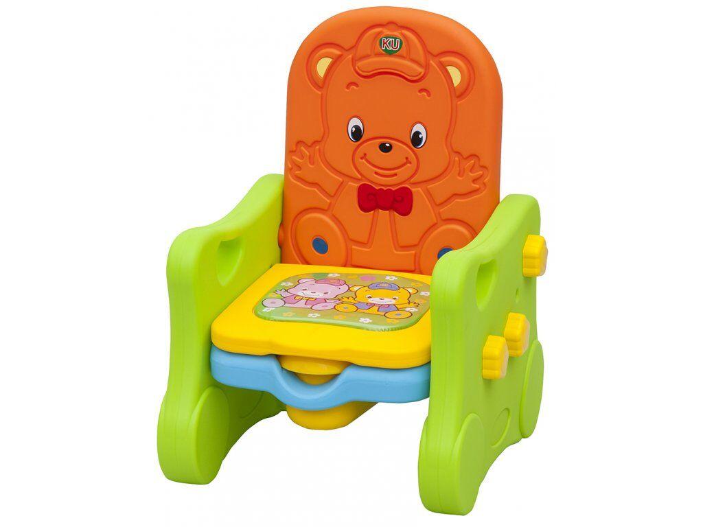 ba6ea4a946e Plastový nočník židlička Scarlett Méďa